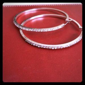 Silver rhinestone